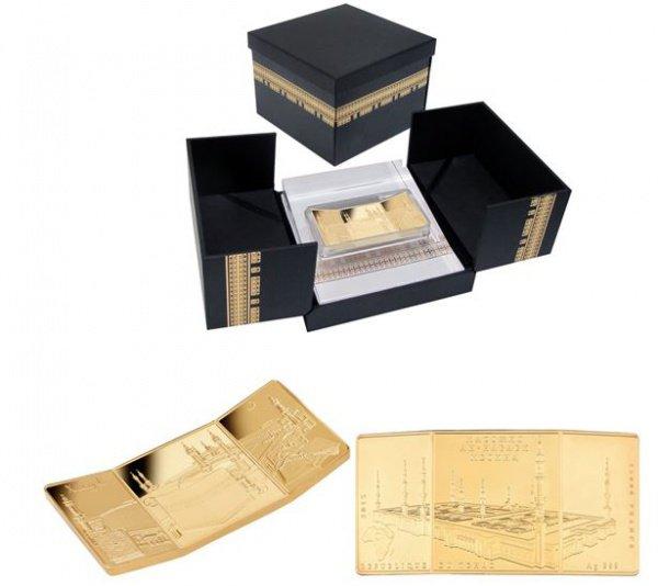 Татфондбанк представил позолоченную версию монеты, посвященной Хаджу