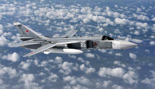 СУ-24 советский и российский фронтовой бомбардировщик