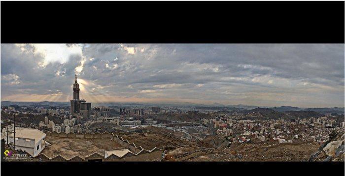 Панорама Мекки
