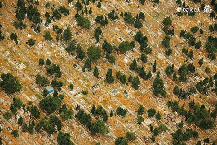 Шамахы, кладбище