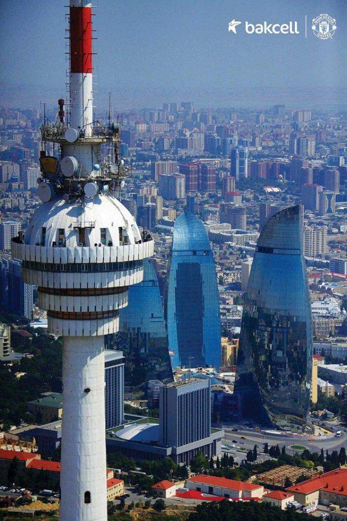 Баку, телебашня