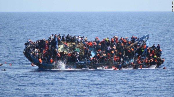 Инцидент в Средиземном море.
