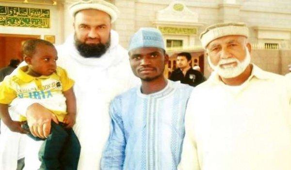 3-летний Мухаммад в окружении именитых богословов.