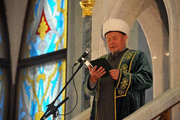Главный казый (шариатский судья) Татарстана Джалиль хазрат Фазлыев
