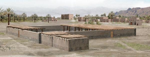 Старая постройка мечети пророка Мухаммада (мир ему)