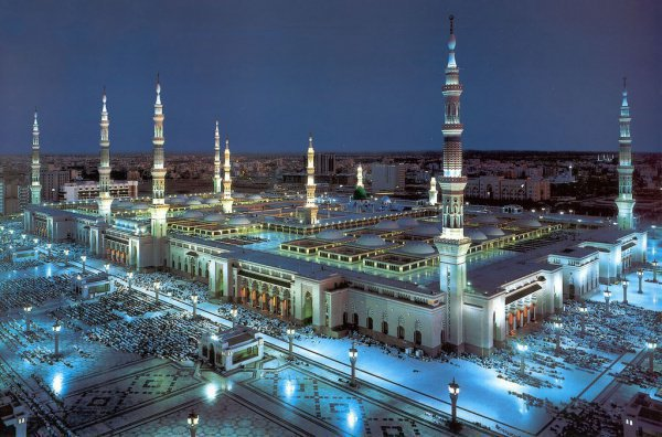 Мечеть пророка в наши дни