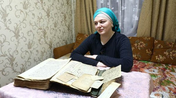 Москвичка с редчайшим Кораном.