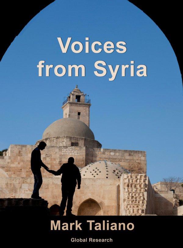 Книга «Голоса из Сирии». Автор Марк Талиано