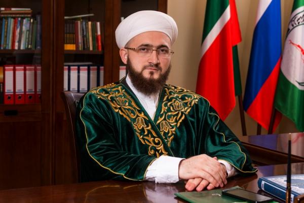 Муфтий Татарстана Камиль хазрат Самигуллин.