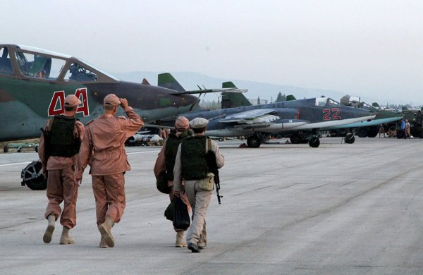 ВКС РФ в Сирии.