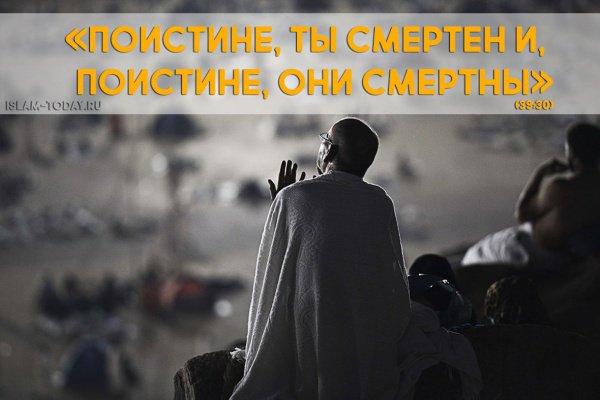 «Поистине, ты смертен и, поистине, они смертны» (39:30)