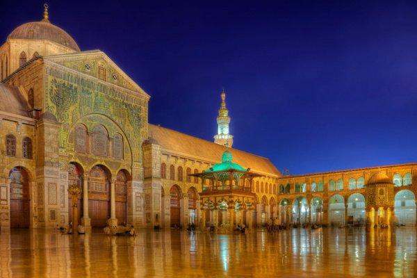 Мечеть Омейядов в Сирии