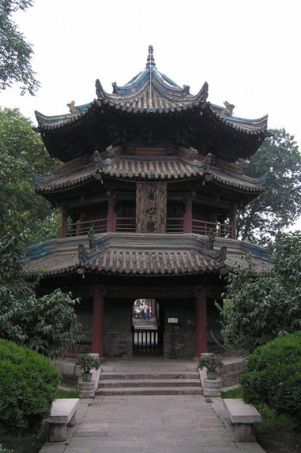 Большая сианьская мечеть в Китае
