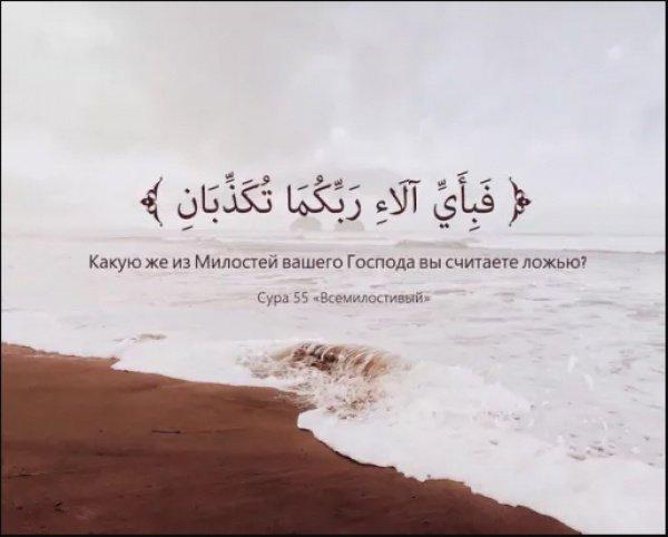 «Аллах даровал им эту милость как воздаяние за то, что они совершали благочестивые дела»