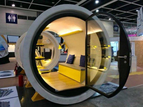 Проект OPod Tube House подразумевает заселение гонконгцев в бетонные трубы диаметром 2,5 м