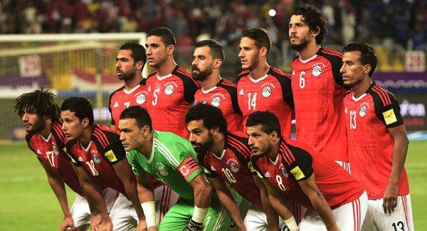 Сборная Египта на ЧМ-2018.