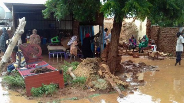 На ряд районов Судана, в том числе и на столицу государства, Хартум, обрушились мощнейшие осадки
